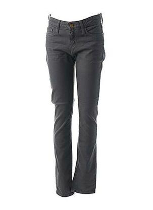 Pantalon casual gris ACQUAVERDE pour femme