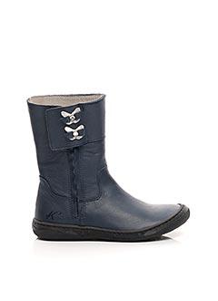 Bottines/Boots bleu KNEPP pour fille