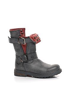 Bottines/Boots gris BIKEY pour fille