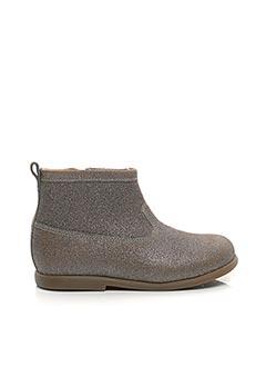 Bottines/Boots beige POM D'API pour fille