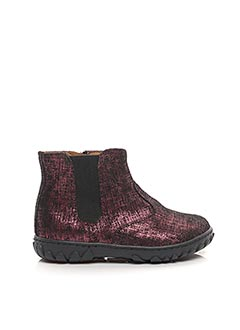 Bottines/Boots rose POM D'API pour fille