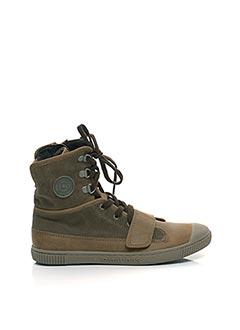 Bottines/Boots marron PATAUGAS pour garçon