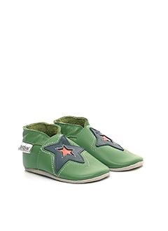 Chaussons/Pantoufles vert BOBUX pour enfant