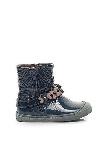 Bottines/Boots bleu ROMAGNOLI pour fille