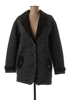 Manteau court gris LOLA ESPELETA pour femme