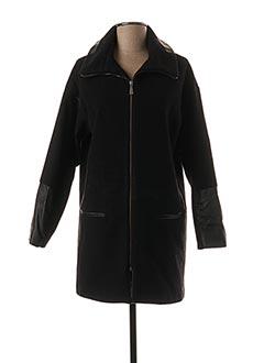Manteau long noir VOODOO pour femme
