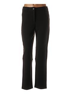 Pantalon casual noir 3322 pour femme