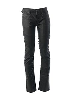 Jeans coupe slim noir TEDDY SMITH pour homme