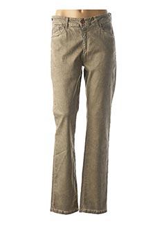 Pantalon casual beige PIERRE CARDIN pour femme