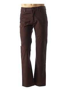 Pantalon casual marron TIBET pour homme