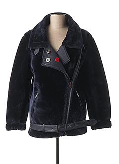 Manteau court bleu DESIGUAL pour femme