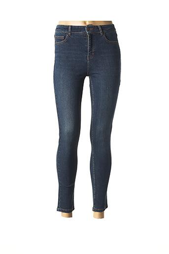 Jeans skinny bleu LAB DIP PARIS pour femme