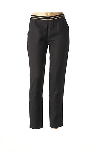 Pantalon casual noir BLUNE pour femme