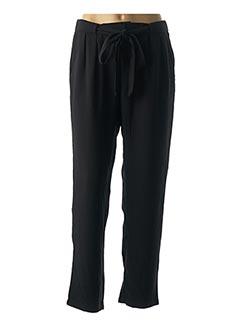 Pantalon casual noir GARANCE pour femme