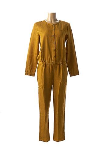 Combi-pantalon jaune BLUNE pour femme