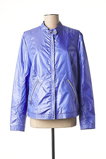 Veste casual bleu CONCEPT K pour femme