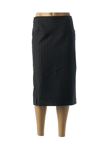 Jupe mi-longue noir CLAUDE DE SAIVRE pour femme