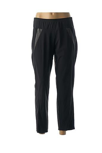 Pantalon casual noir DESAIVRE pour femme