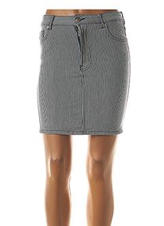 Jupe courte bleu TIFFOSI pour femme