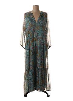 Robe longue bleu VILA pour femme