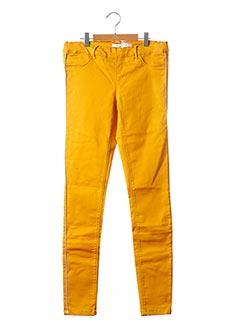 Pantalon casual jaune NAME IT pour fille