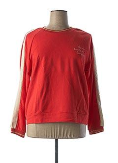 Sweat-shirt rouge SUMMUM pour femme