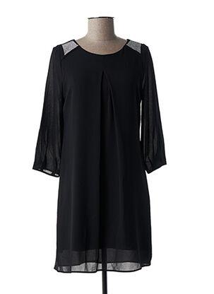 Robe courte noir ALAN RED pour femme