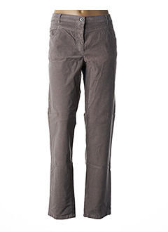 Pantalon casual beige BETTY BARCLAY pour femme