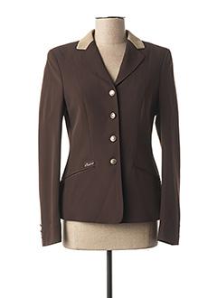 Veste casual marron PIKEUR pour femme