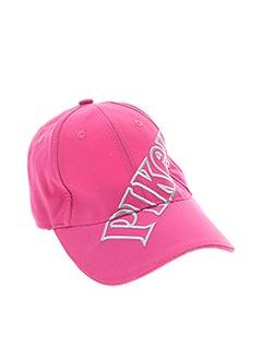 Casquette rose PIKEUR pour femme