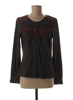 Veste casual gris AGATHE & LOUISE pour femme