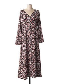 Robe longue noir MISMASH pour femme