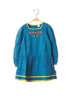 Robe mi-longue bleu TUC TUC pour fille