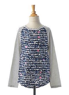 T-shirt manches longues bleu JOULES pour fille