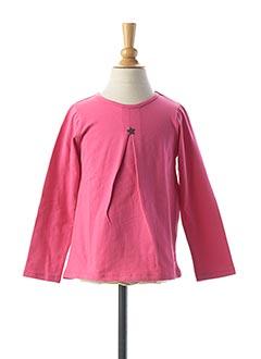 T-shirt manches longues rose TUC TUC pour fille