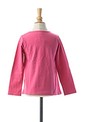 T-shirt manches longues rose TUC TUC pour fille seconde vue