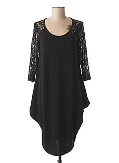 Robe pull noir DIAMBRE pour femme