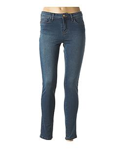 Jeans skinny bleu LCDN pour femme