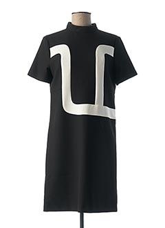 Robe courte noir TARA JARMON pour femme