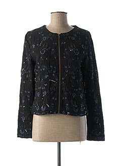 Veste casual noir ESSENTIEL pour femme