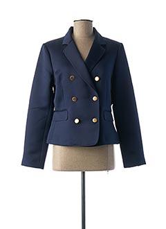 Veste chic / Blazer bleu ESSENTIEL pour femme