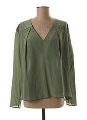 Blouse manches longues vert ELLA LUNA pour femme seconde vue