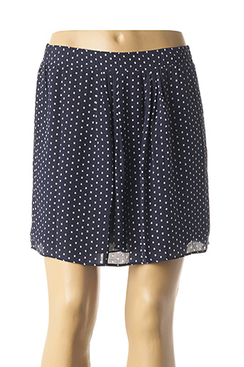Jupe courte bleu HARTFORD pour femme