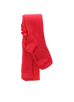 Collants rouge LILI GAUFRETTE pour fille