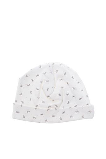 Bonnet blanc ABSORBA pour fille