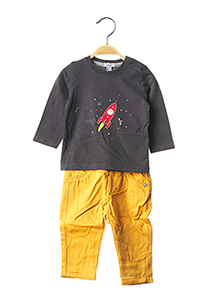 Top/pantalon gris ABSORBA pour garçon