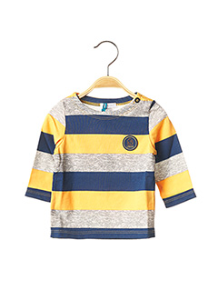 T-shirt manches longues orange ABSORBA pour garçon