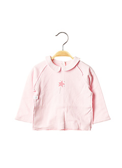 Sous-pull rose ABSORBA pour fille