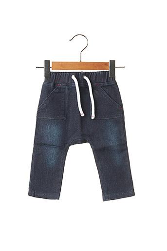 Jeans coupe droite bleu ABSORBA pour enfant