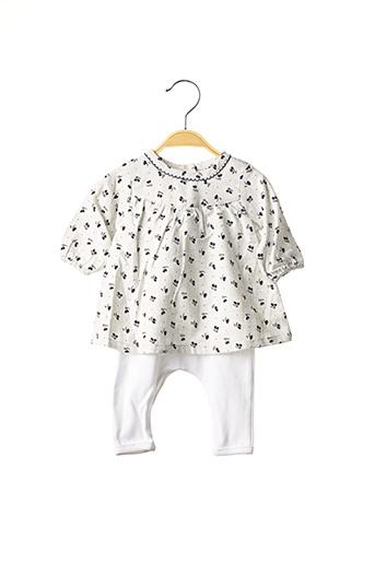 Combi-pantalon blanc ABSORBA pour fille
